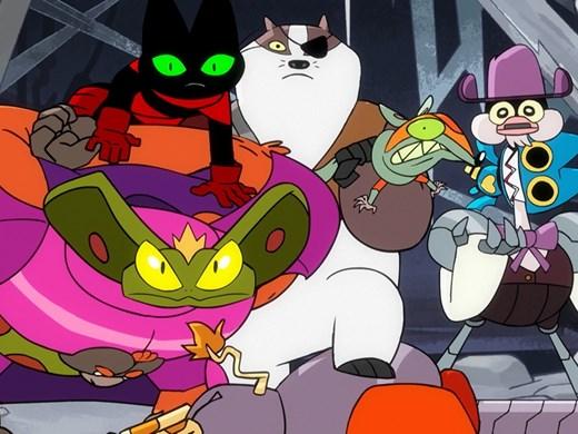 Котка самурай става супергерой в нова анимация