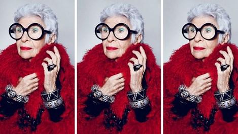 Айрис Апфел - 99-годишната модна икона