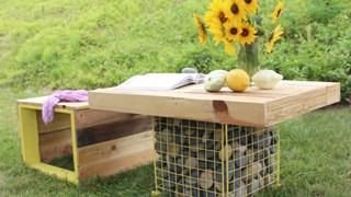 За какво да използваме габионите в градината