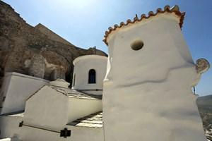 "Манастирът ""Св. Георги"" в Хора - главният град на Скирос"