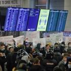 Пренасочиха самолета на Навални към друго летище заради размириците (Снимки)