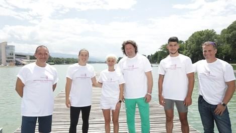 Петима от най-добрите ни кануисти в подкрепа на жените с рак на гърдата