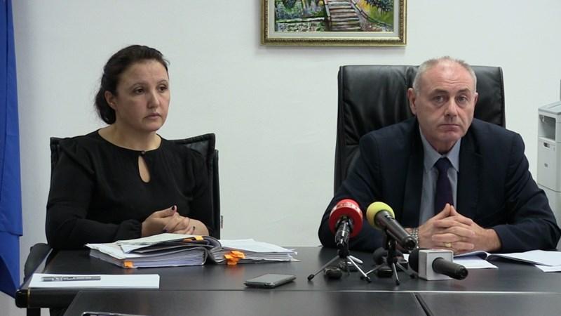 Прокурор Йорданка Чанева и и.д. окръжен прокурор на Добрич Златко Тодоров СНИМКА: Авторката