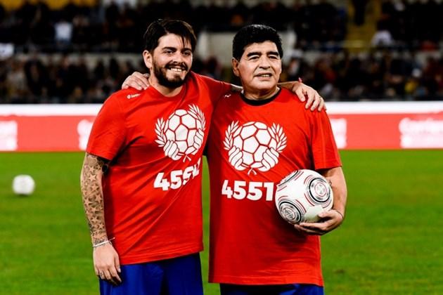 Синът на Марадона в реанимация с коронавирус