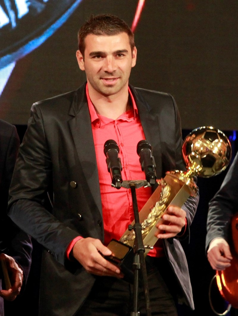 Владислав Стоянов беше избран за футболист №1 на България за 2014 година