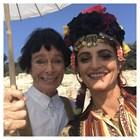 Нина Николина с Чаплин при Тито