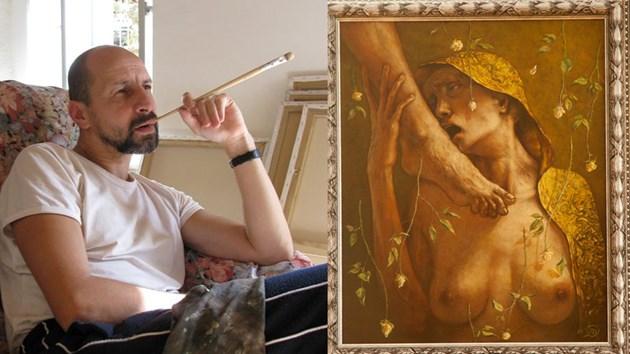 Художникът Тони Тодоров: Откраднаха ми 3 картини за 15 бона