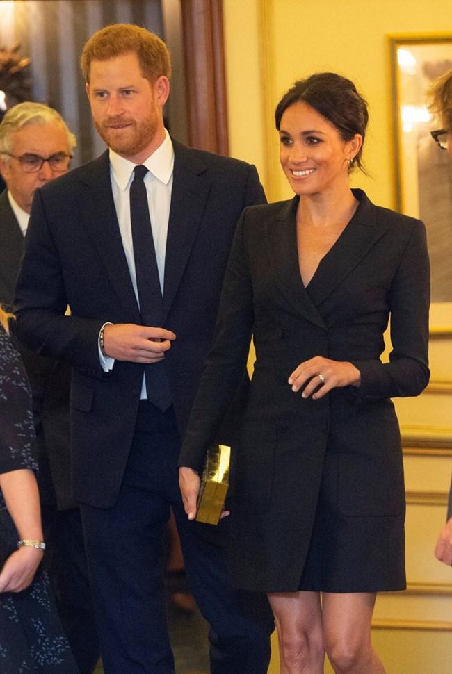 Принц Хари и съпругата му Меган Снимка: Ройтерс