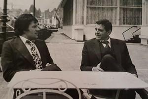 Иван Славков и Иван Комитов били неразделни приятели.