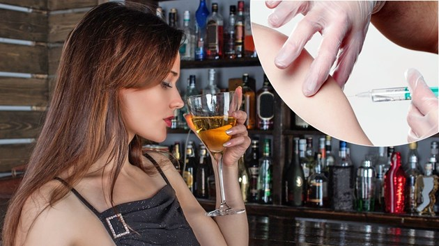 Без алкохол при ваксиниране