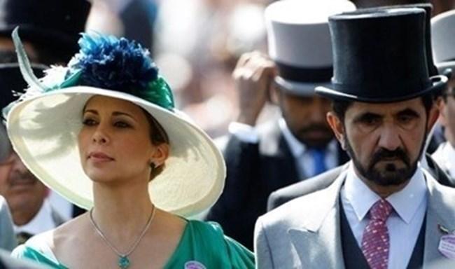 Принцеса Хая и емирът на Дубай Мохамед бин Рашид Ал Мактум СНИМКА: РОЙТЕРС
