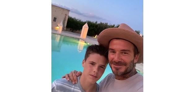 Синът на Дейвид Бекъм подарина баща си електрическасамобръсначка за тестиси