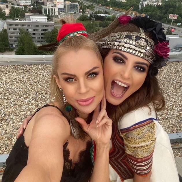 """Нина Николина и Галя от """"Сатен"""" се събраха"""