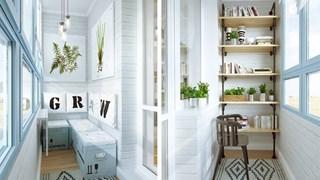 Идеи за балкона (галерия)