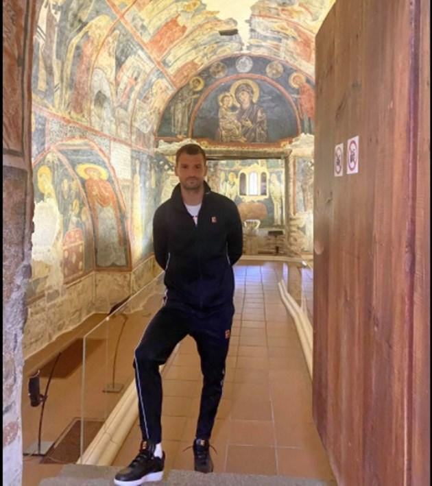 Григор разгледа Боянската църква
