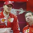 Шумахер отива на добре