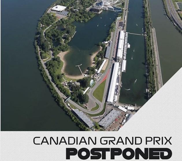 Пропадна и Формула 1 в Канада