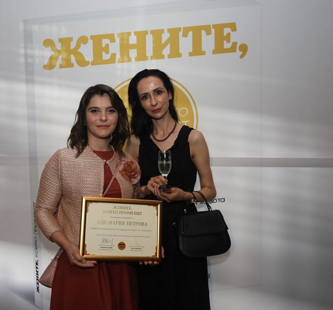 Адв. д-р Мария Петрова, специалист по медицинско право – основател на LexMedica BG, заедно с д-р Емилия Стоилова