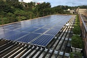 Покривът на обществената библиотека в Бейту събира вода и слънчева енергия