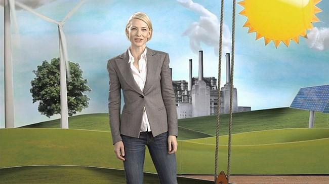 """Носителката на """"Оскар"""" в тв реклама, агитираща за въвеждането на данък въглерод"""