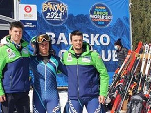 Калин Златков 12-и в света в ските