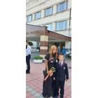 Радостина Паньова изпрати първородния си син Виктор в първи клас