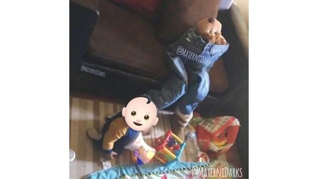 Бебето плаче, когато не стоите до него? Вижте как се справи тази майка