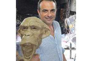 Създателят на скулптурата Георги Андонов