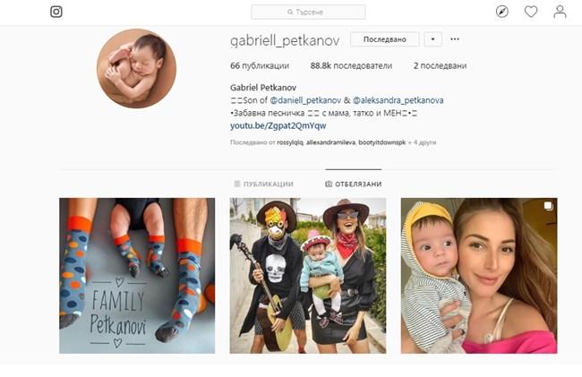 С 88,8 хил. последователи Габриел може да събуди завист в доста девойки и младежи.