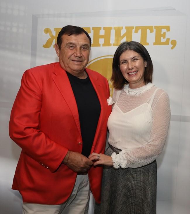 """Д-р инж. Румяна Вълканов, собственик и председател на Съвета на директорите на """"Енерджи МТ"""" ЕАД, заедно със съпруга си Николай Вълканов"""