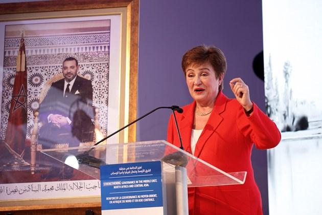 Кристалина Георгиева зове Г-20 да се бори с раздалечаването на икономиките