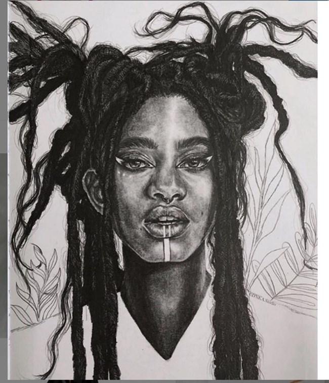 Дъщерята на Уил Смит споделя свои рисунки.