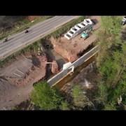 """Виж как строят Околовръстния път между """"Младост"""" и магистрала """"Тракия"""" (Видео)"""