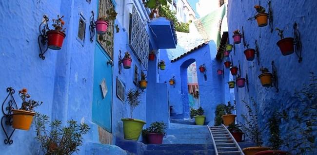 Старият град Сhefchaouen (Мароко)