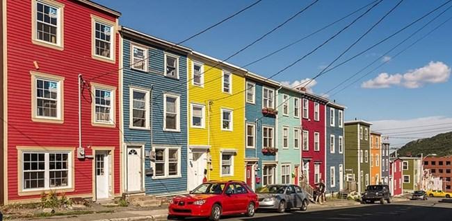 Jellybean Row (Нюфаундленд, Канада)