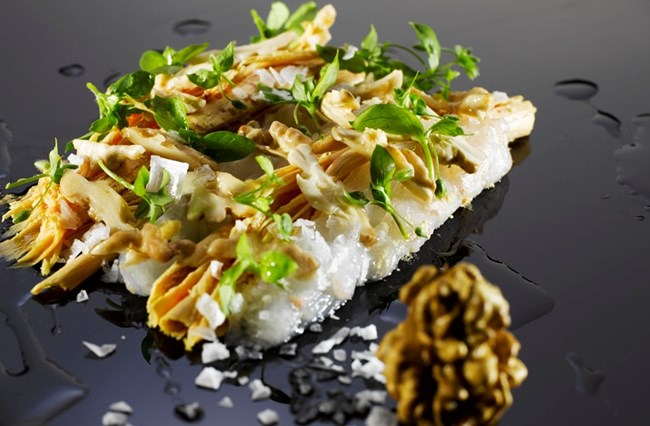 """Пушените зеленчуци на Рене са сред най-обичаните блюда.  Гъши дроб и лангустини с орехи ще се предлага до Нова година в """"Нома""""."""