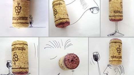Втори живот за тапите от вино (галерия)