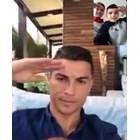Синът на Божинов срещна Роналдо