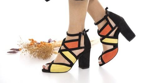 Колоритни тенденции при обувките