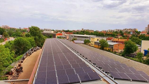 """""""Енерго-Про"""" построи фотоволтаична централа в Русе"""
