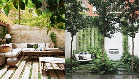 Идеи за красив вътрешен двор (галерия)