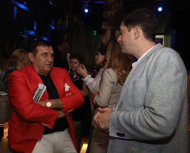 Николай Вълканов и Милен Врабевски
