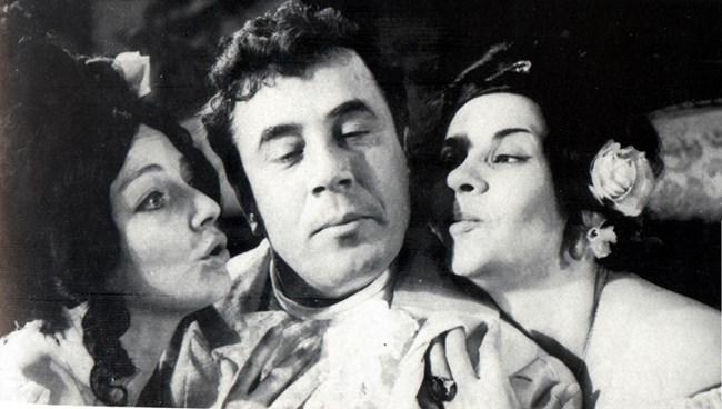 С двамата си най-добри приятели - Невена Коканова и Георги Калоянчев