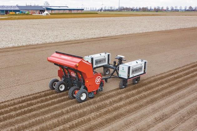 Дали по-леките машини могат да работят по-ефективно в картофите, се питат участниците в проекта за роботизация