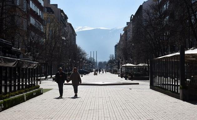 """Наемите по булевард """"Витоша"""" падат за първи път от десетилетие"""