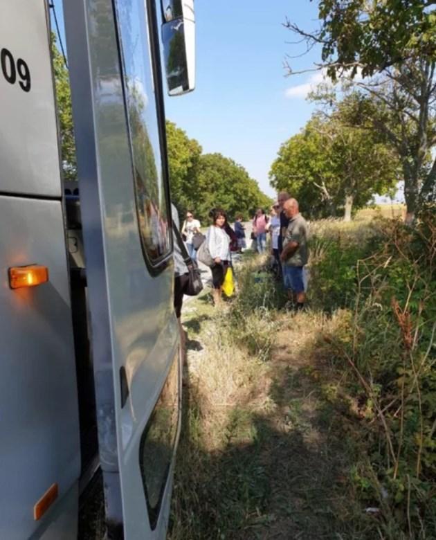 Жегата в автобус унижава пътници