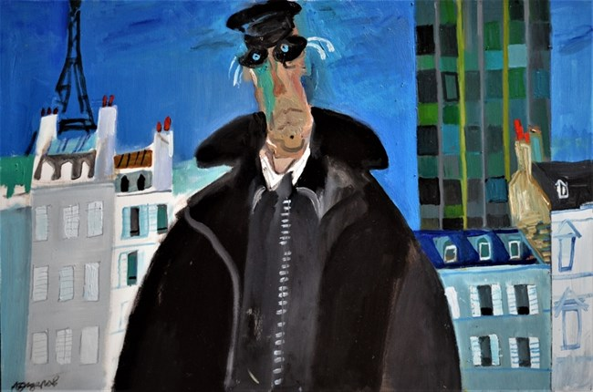 Любен Зидаров в Париж