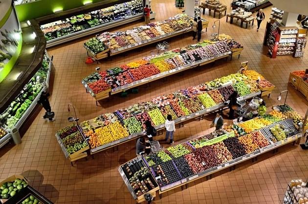 Индексът на тържищните цени на хранителните стоки се повиши с 2,17 на сто