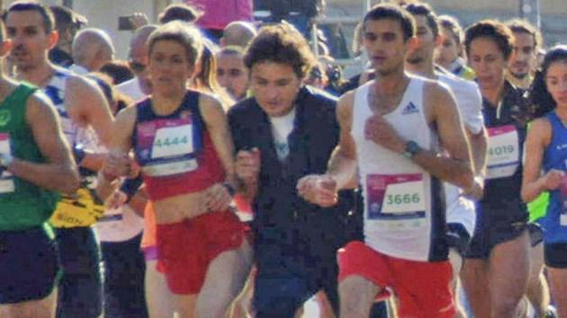 Без обвинение за хулигана от маратона