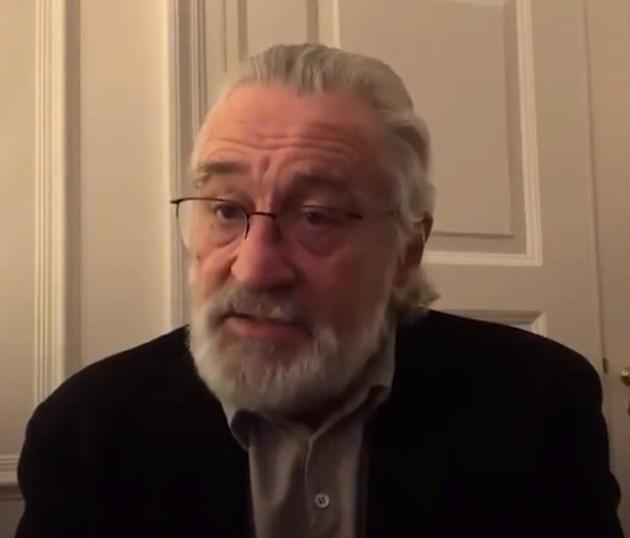 Робърт де Ниро: Да се изолираме, ще спасим животи (Видео)